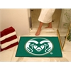 "FANMATS Colorado State All-Star Mat 33.75""x42.5"""