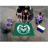 FANMATS Colorado State Tailgater Rug 5'x6'