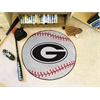 "FANMATS Georgia Baseball Mat 27"" diameter"