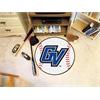 """FANMATS Grand Valley State Baseball Mat 27"""" diameter"""