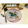"FANMATS Miami Baseball Mat 27"" diameter"