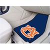"FANMATS Auburn 2-piece Carpeted Car Mats 17""x27"""