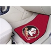 "FANMATS Florida State 2-piece Carpeted Car Mats 17""x27"""