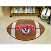 "FANMATS Wisconsin Football Rug 20.5""x32.5"""