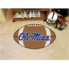 "FANMATS Mississippi Football Rug 20.5""x32.5"""