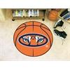"""FANMATS Auburn Basketball Mat 27"""" diameter"""