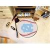 """FANMATS UNC - Chapel Hill Baseball Mat 27"""" diameter"""
