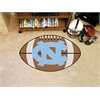 "FANMATS UNC - Chapel Hill Football Rug 20.5""x32.5"""