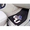 "FANMATS Gonzaga 2-piece Carpeted Car Mats 17""x27"""