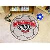 FANMATS Wisconsin Soccer Ball
