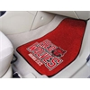 "FANMATS Arkansas State 2-piece Carpeted Car Mats 17""x27"""