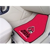 "FANMATS Ball State 2-piece Carpeted Car Mats 17""x27"""