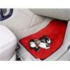 "FANMATS Boston 2-piece Carpeted Car Mats 17""x27"""