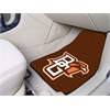 "FANMATS Georgia 2-piece Carpeted Car Mats 18""x27"""