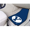 "FANMATS BYU 2-piece Carpeted Car Mats 17""x27"""