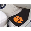 "FANMATS Clemson 2-piece Carpeted Car Mats 17""x27"""