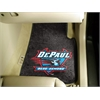 "FANMATS DePaul 2-piece Carpeted Car Mats 17""x27"""