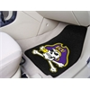 "FANMATS East Carolina 2-piece Carpeted Car Mats 17""x27"""