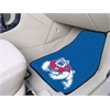 "FANMATS Fresno State 2-piece Carpeted Car Mats 17""x27"""
