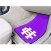 "FANMATS Holy Cross 2-piece Carpeted Car Mats 17""x27"""