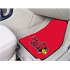"FANMATS Illinois State 2-piece Carpeted Car Mats 17""x27"""