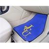 """FANMATS John Carroll 2-piece Carpeted Car Mats 17""""x27"""""""