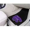 "FANMATS Kansas State 2-piece Carpeted Car Mats 17""x27"""