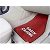 "FANMATS Louisiana-Lafayette 2-piece Carpeted Car Mats 17""x27"""