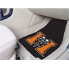 "FANMATS Mercer 2-piece Carpeted Car Mats 17""x27"""