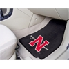 "FANMATS Nicholls State 2-piece Carpeted Car Mats 17""x27"""