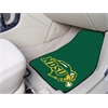 "FANMATS North Dakota State 2-piece Carpeted Car Mats 17""x27"""