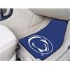 "FANMATS Penn State 2-piece Carpeted Car Mats 17""x27"""