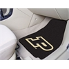 "FANMATS Purdue 'P' 2-piece Carpeted Car Mats 17""x27"""