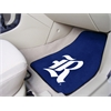 "FANMATS Rice 2-piece Carpeted Car Mats 17""x27"""