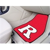"FANMATS Rutgers 2-piece Carpeted Car Mats 17""x27"""