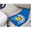 "FANMATS San Jose State University 2-piece Carpeted Car Mats 17""x27"""