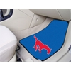 "FANMATS Southern Methodist 2-piece Carpeted Car Mats 17""x27"""