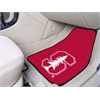 "FANMATS Stanford 2-piece Carpeted Car Mats 17""x27"""