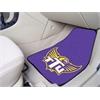 "FANMATS Tennessee Technological 2-piece Carpeted Car Mats 17""x27"""