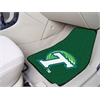 "FANMATS Tulane 2-piece Carpeted Car Mats 17""x27"""