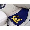 """FANMATS UC Berkeley 2-piece Carpeted Car Mats 17""""x27"""""""