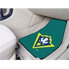 "FANMATS UNC - Wilmington 2-piece Carpeted Car Mats 17""x27"""