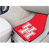"FANMATS Houston 2-piece Carpeted Car Mats 17""x27"""