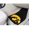 "FANMATS Iowa 2-piece Carpeted Car Mats 17""x27"""