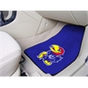 "FANMATS Kansas 2-piece Carpeted Car Mats 17""x27"""