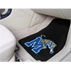 "FANMATS Memphis 2-piece Carpeted Car Mats 17""x27"""