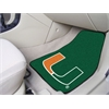 "FANMATS Miami 2-piece Carpeted Car Mats 17""x27"""