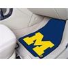 "FANMATS Michigan 2-piece Carpeted Car Mats 17""x27"""