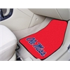 "FANMATS Mississippi 2-piece Carpeted Car Mats 17""x27"""
