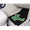 """FANMATS South Florida 2-piece Carpeted Car Mats 17""""x27"""""""